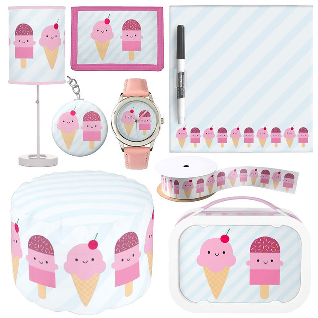 Ice Cream Treats at Zazzle