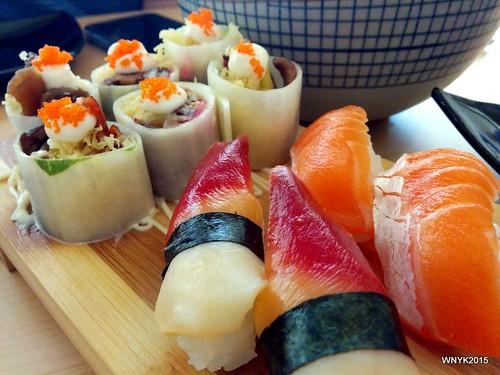 Sushi & Kyuri Roll