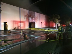 Massive Blaze Damages Van Nuys Businesses
