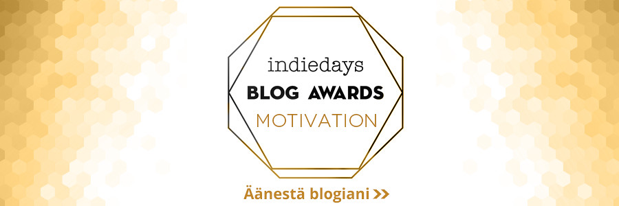 Ehdokasbanneri - Hyvinvointi -Indiedays Blog Awards