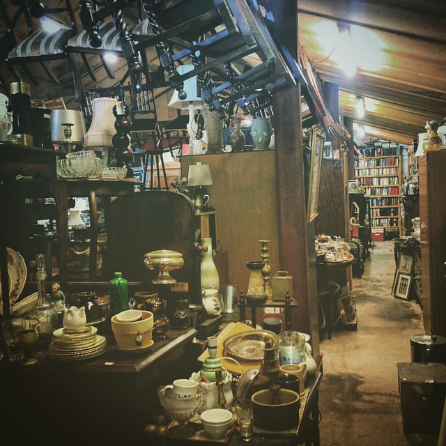 Junk shop in Castle Douglas