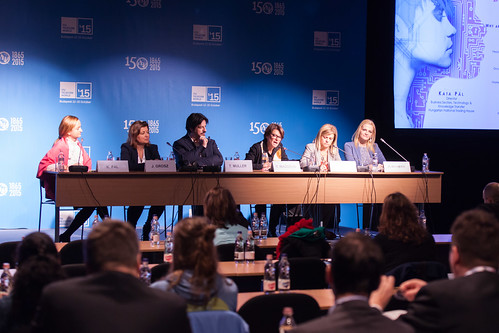 """Panel Session -  """"Girls in ICT – Why are girls still not attracted to ICT studies and careers?"""": panel discussion moderated by Kata Pál, Director, Business Sector Development, Technology & Knowledge Transfer, Hungarian National Tradehouse"""