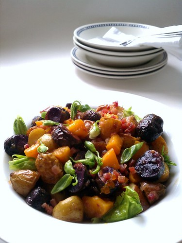 Roasted Fingerling Potato Salad