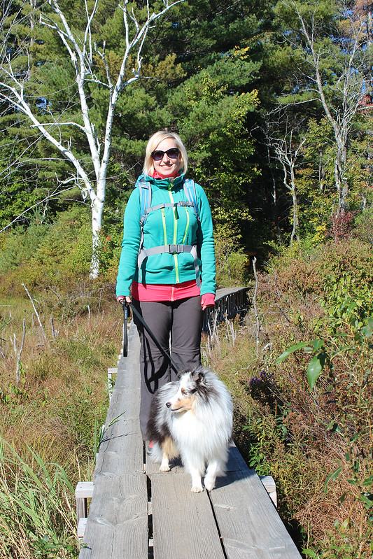 Begin hike