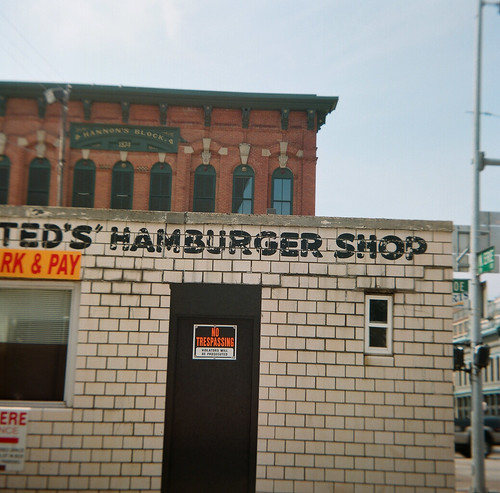 """Ted's"" Hamburger Shop"