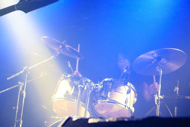 熊のジョン live at Outbreak, Tokyo, 14 Oct 2015. 418