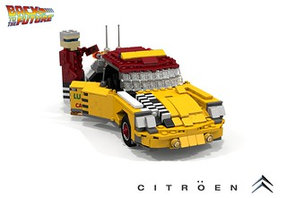 Citroen DS Taxi - 2015 (Back to the Future II - 1989)