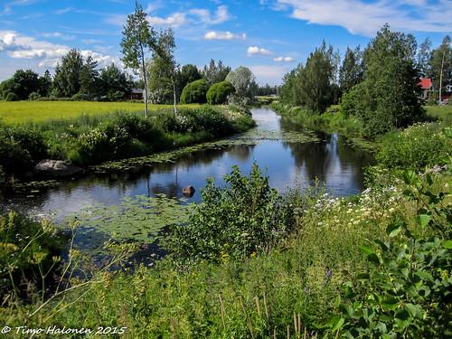 summer digital canon river ixus kesä joki laihia ostrobothnia eteläpohjanmaa perälä 100is