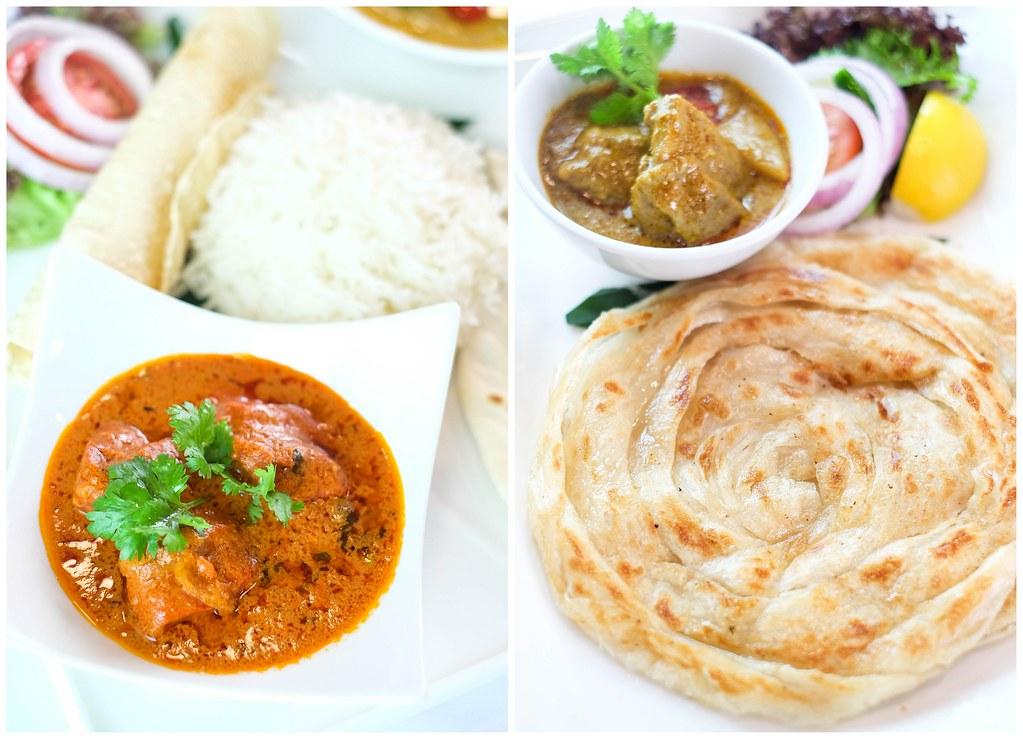 Blue Lagoon Restaurant in Superstar Gemini: paneer makhni & Roti Prata