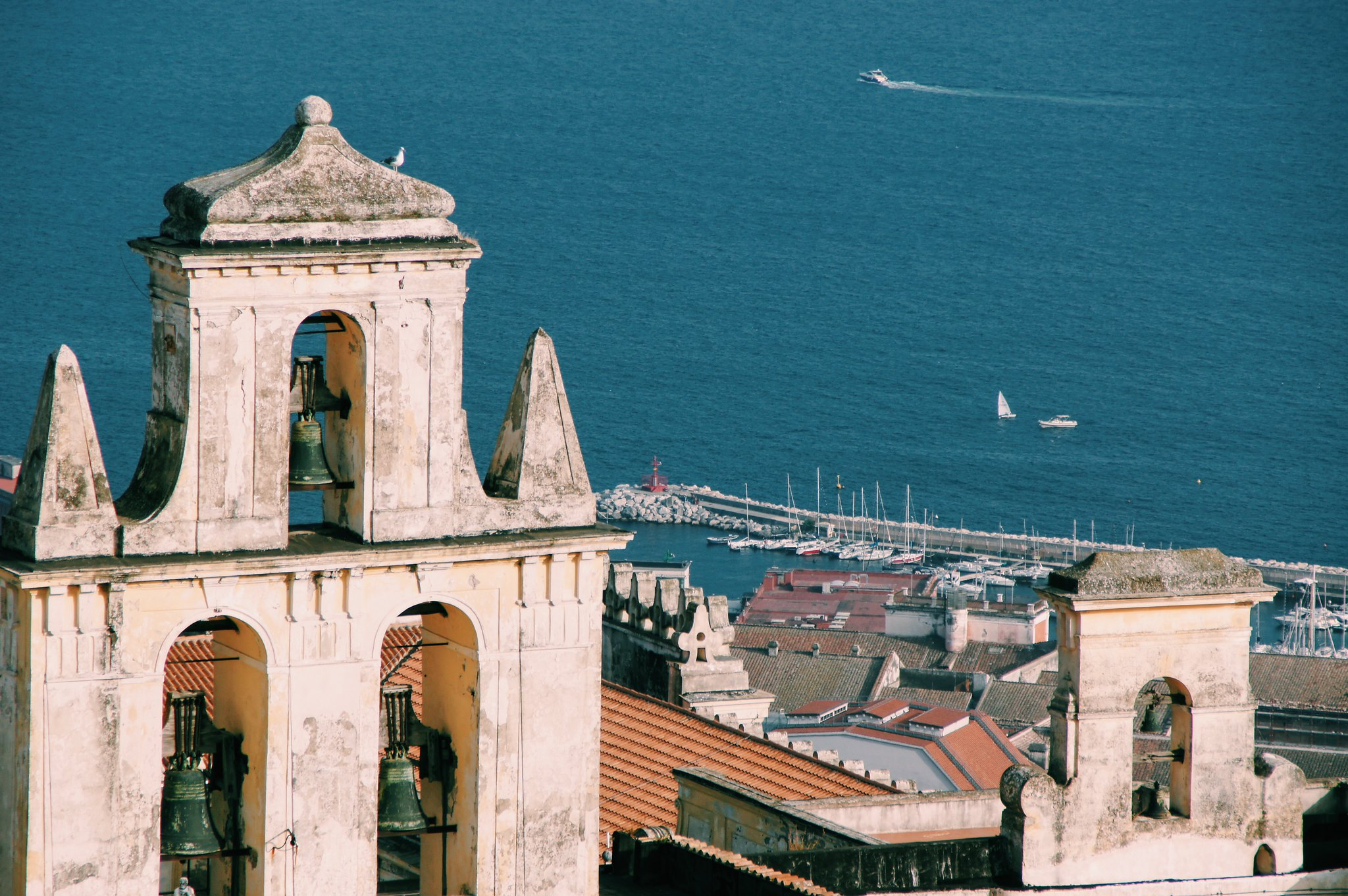 View from Saint Elmo Castle, Naples