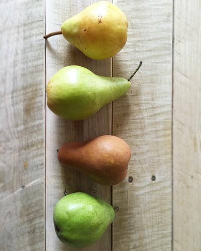 pear taste test