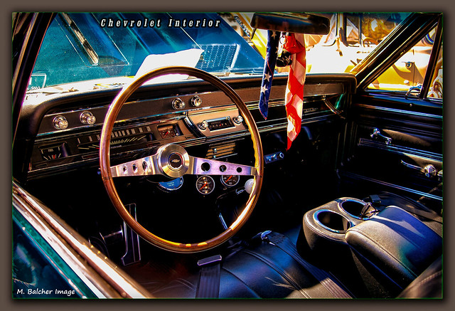 Chevrolet Chevelle Interior / Car Show Meriden, CT