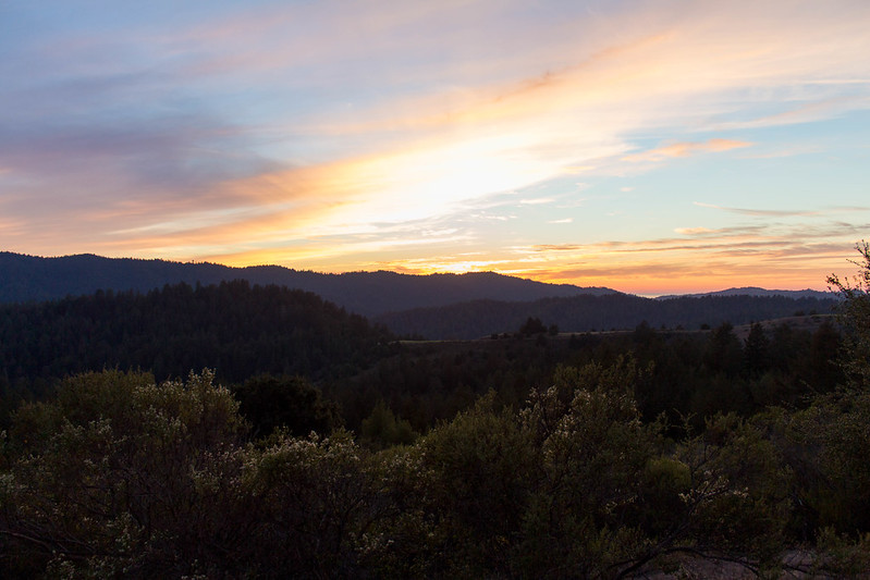 11.22. Sunset from Alpine Rd