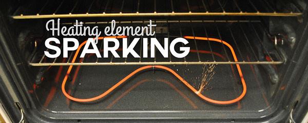Heat Element Sparking