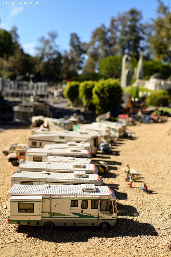 Lego RV Life - Around the World Tour at Legoland California.