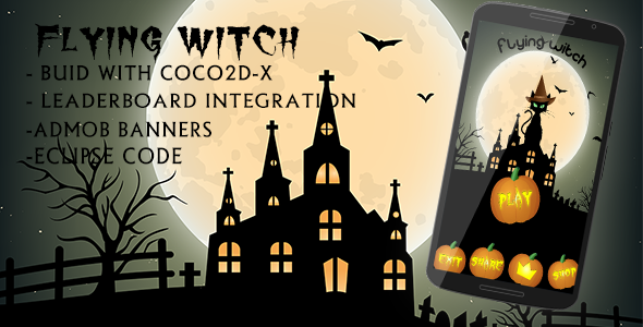 Codecanyon The flying witch – Admob