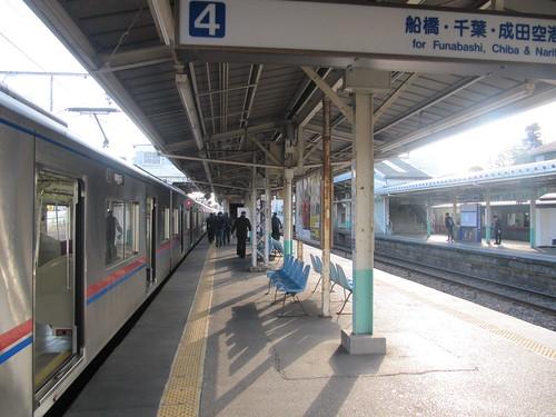 中山競馬場のアクセス駅のひとつ東中山駅