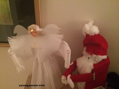 Christmas 2015 - Angel and Santa