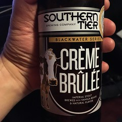Beersperiment:: southern Tier\'s Creme Brule stout: 5*