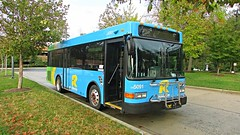 Montgomery County Transit Ride On 2014 Gillig Low Floor Advantage Diesel #5091
