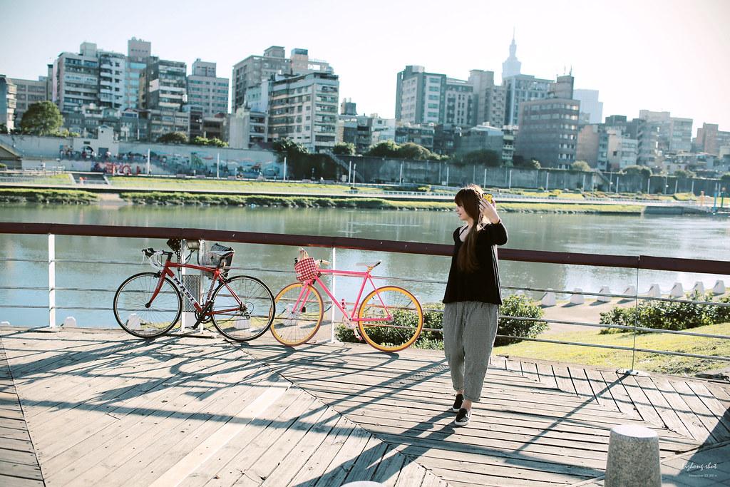 肉腳的單車日記_淡水東湖來回還不算太弱