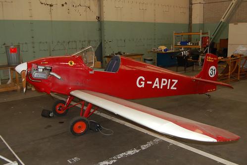 G-APIZ D.31 Turbulent [PFA 478] Shawbury 190209