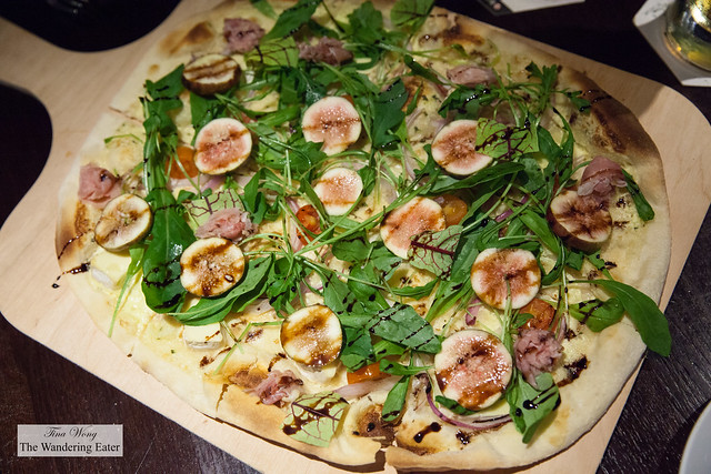 Fig flammkuchen