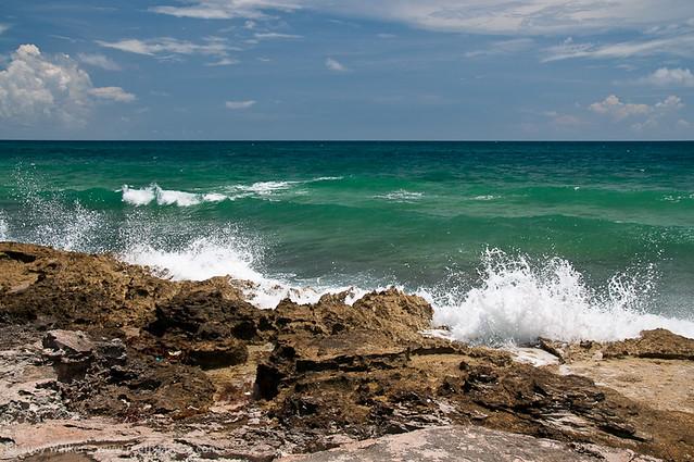 rocks on Isla Contoy
