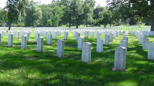 Washington DC Arlington Cemetery July 15 11