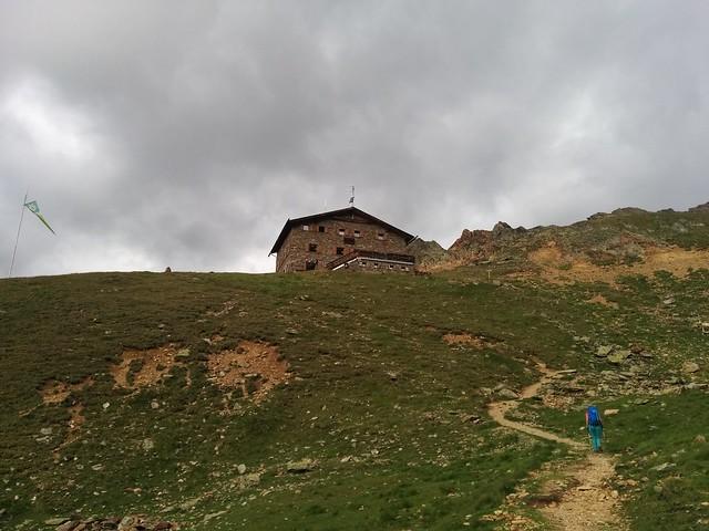 Nur noch wenige Meter bis zur Oberetteshütte