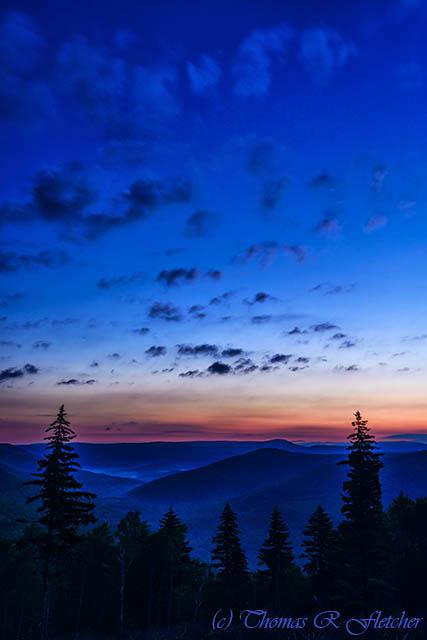 Allegheny Mountain Dawn