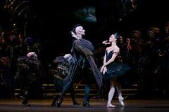 Gary Avis as Von Rothbart and Natalia Osipova as Odile in Swan Lake, The Royal Ballet