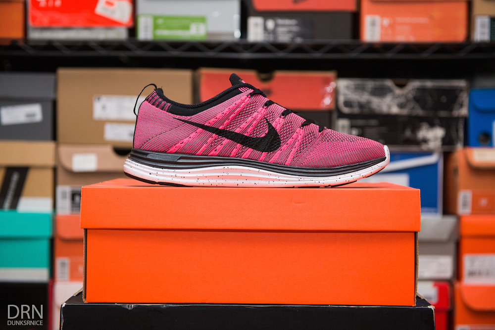 Pink & Black Lunar Flyknit One's.