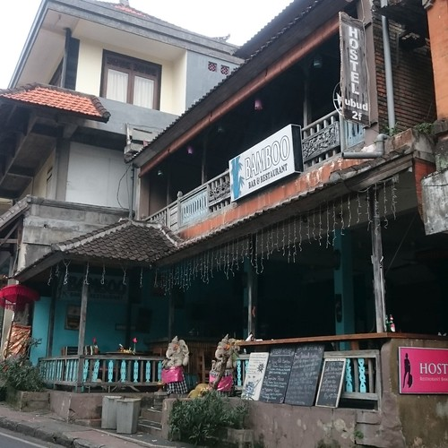 Hostel Ubud Signage