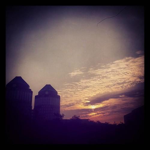 Good morning from downtown Cincinnati.