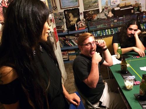 Ana Waitressing at Poker Night (September 10 2014)