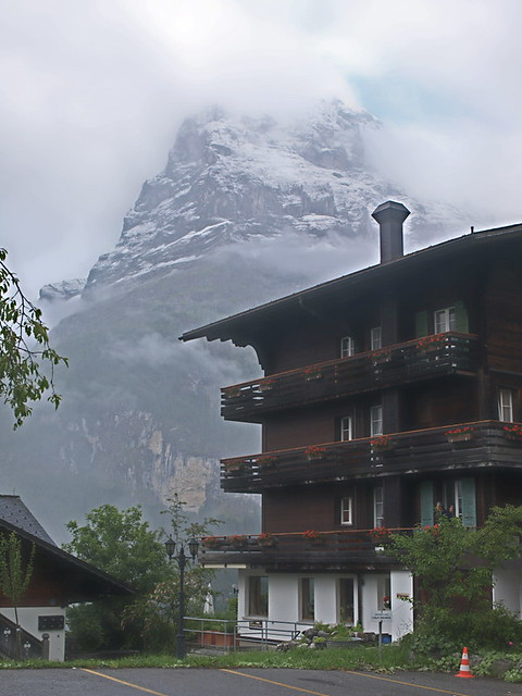 The Eiger, from Grindelwald