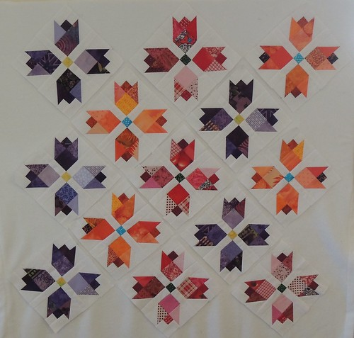 Scrappy Tulip Blocks
