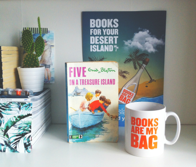 vivatramp desert island reads books are my bag campaign