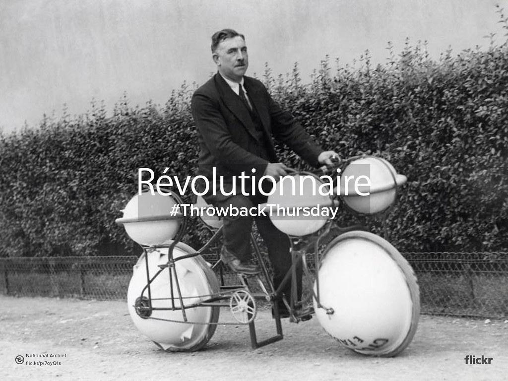 Throwback Thursday : Révolutionnaire #Revolutionary
