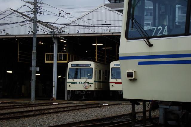 2015/09 叡山電車×わかばガール ヘッドマーク車両 #31
