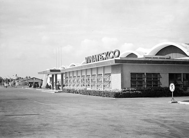 SAIGON April 1962 - Vinatexco Textile Mill - Nay là Nhà máy Dệt Thắng Lợi trên đường Trường Chinh