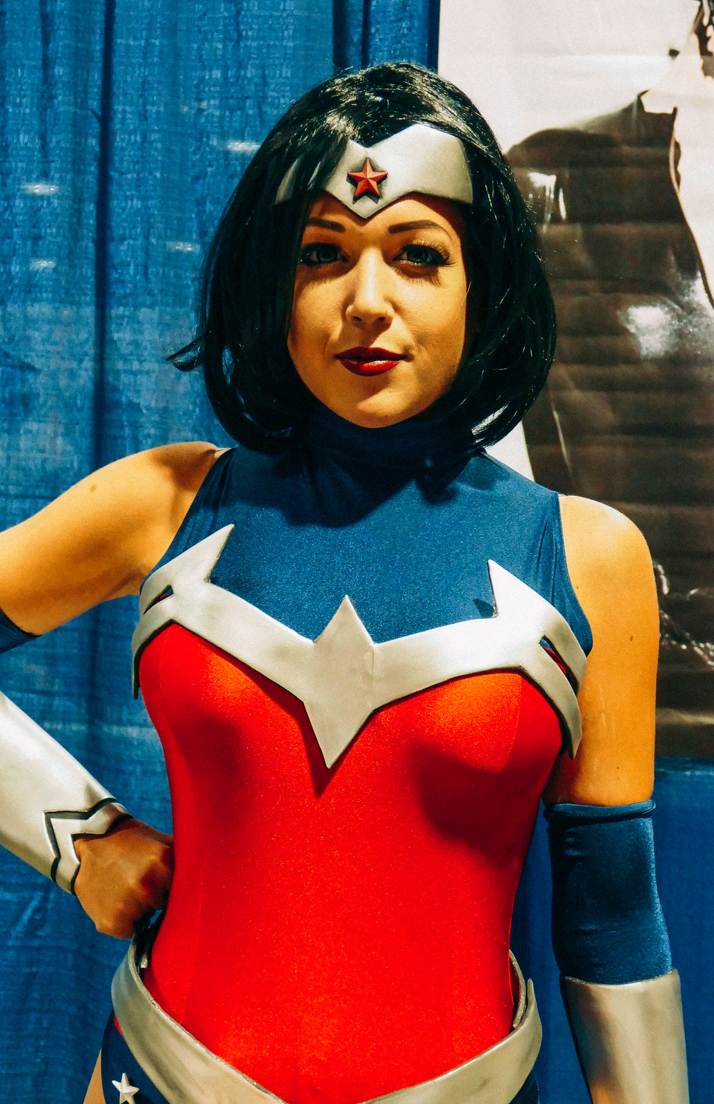 Nicole Marie Jean as Wonder Woman