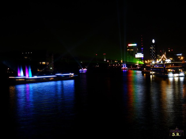 Festival of Lights Oberbaumbrücke 2015  75