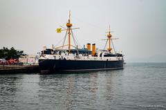 北洋水师旗舰 定远舰