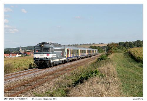 SNCF 67513 - Obermodern - TER830906 (09-09-2015)
