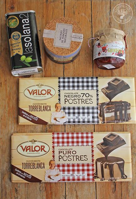 Bombones de chocolate, aove, guindilla y sal www.cocinandoentreolivos.com (2)