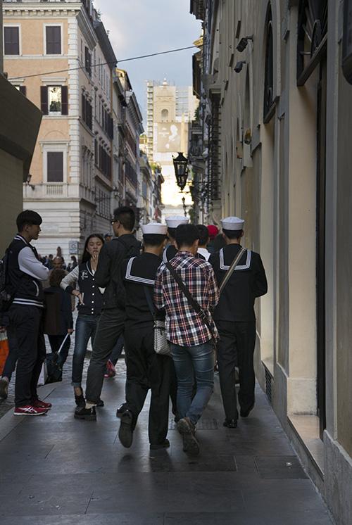 Rome, Via Condotti