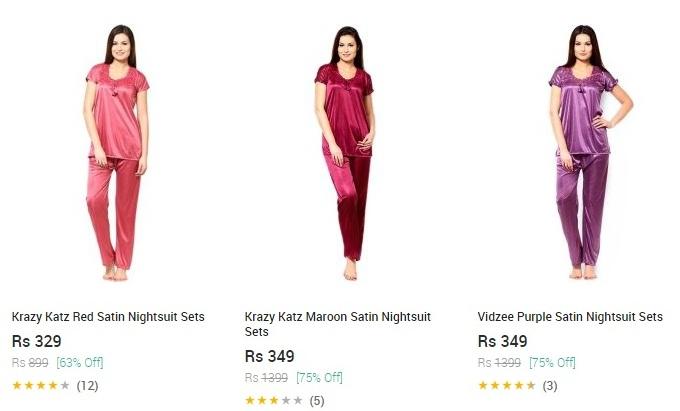 Snapdeal Nightwear