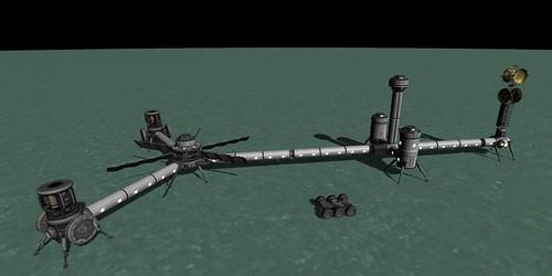 Shelley Base w/ ISRU Modules Installed 1